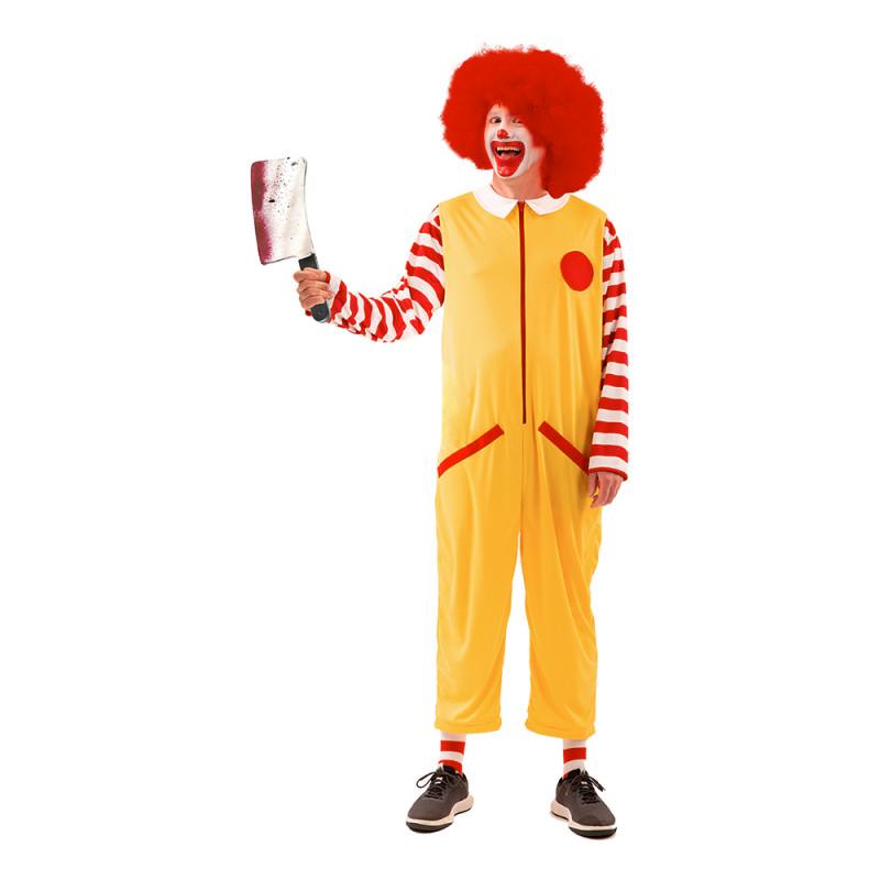 Snabbmats Clown Maskeraddräkt - X-Large