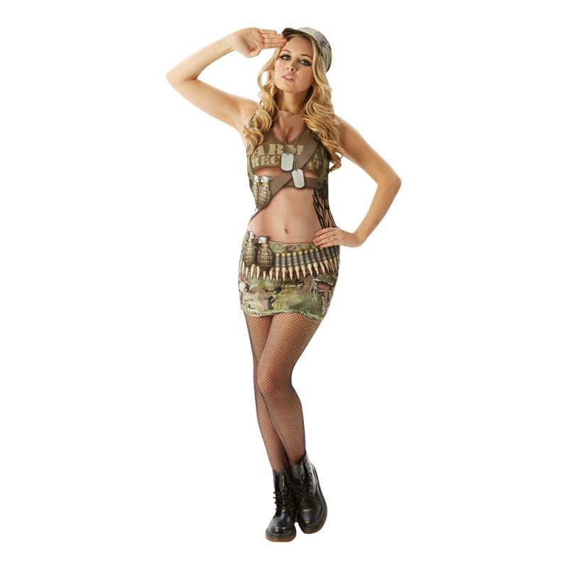 Army Annie Maskeraddräkt - Small