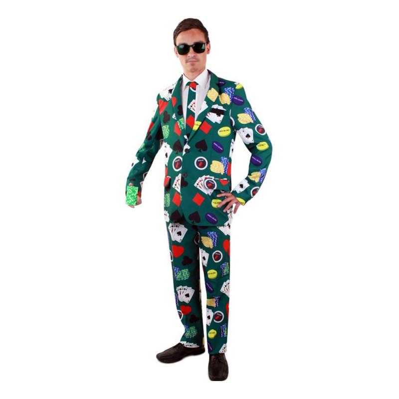 Kostym Poker Herr - 50