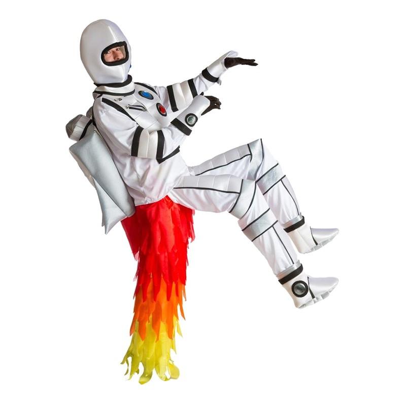 Raket Man Maskeraddräkt - One size