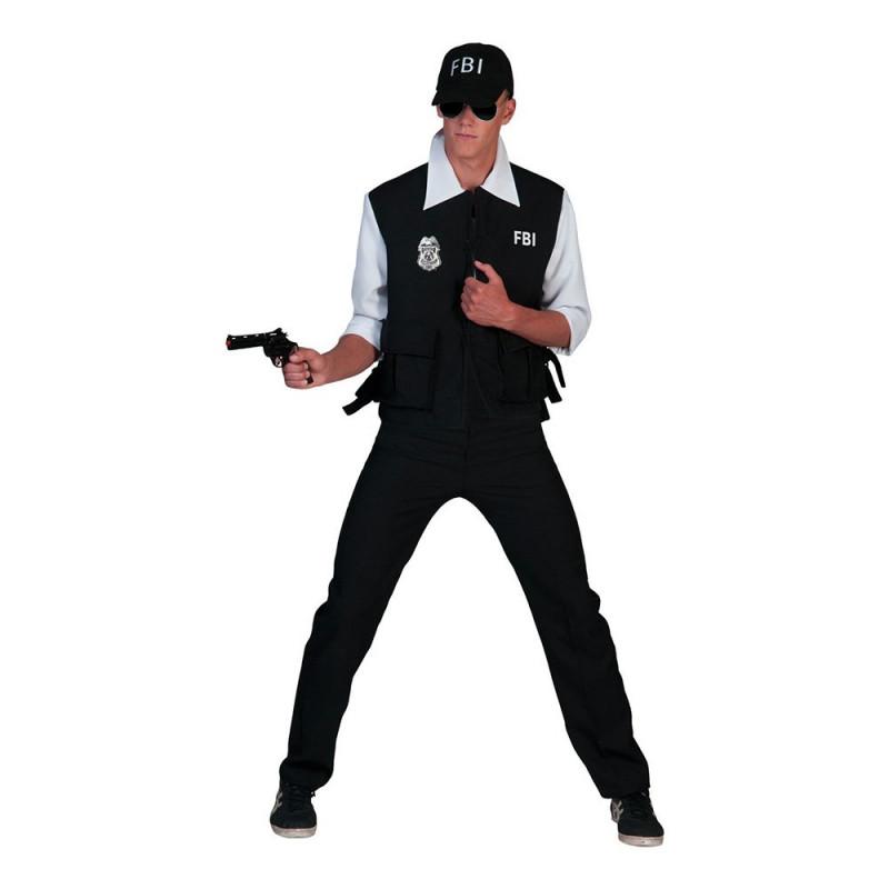 FBI Agent Maskeraddräkt - Large