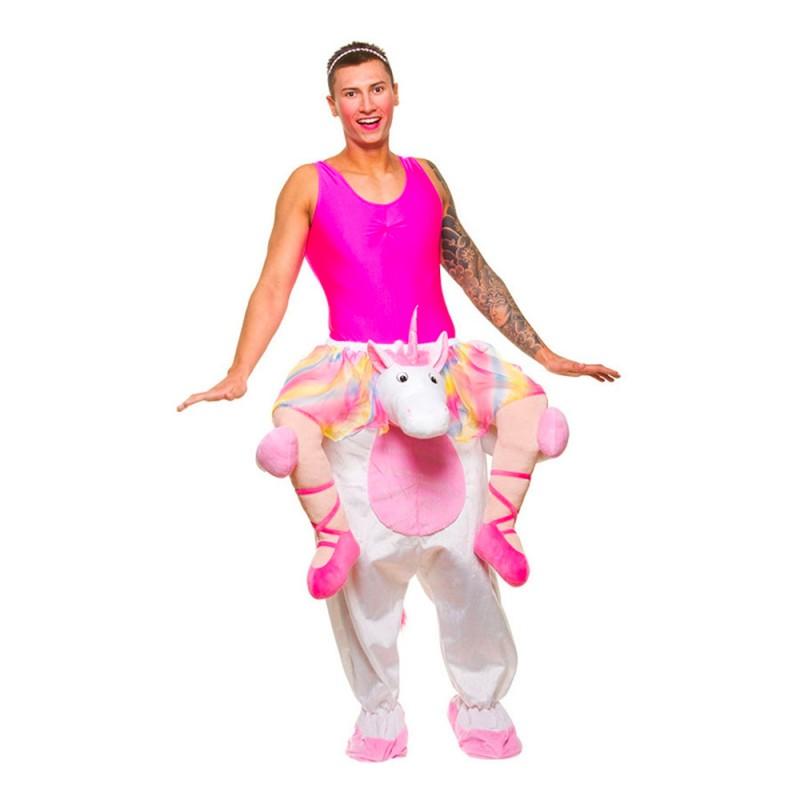 Carry Me Balett Enhörning Maskeraddräkt - One size