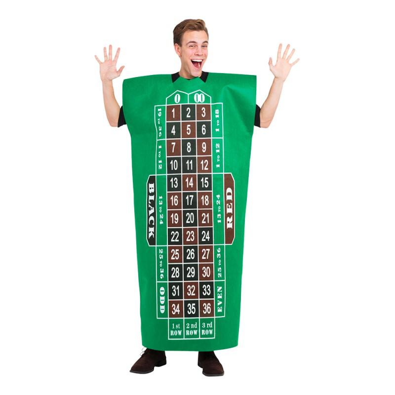 Roulettebord Maskeraddräkt - One size