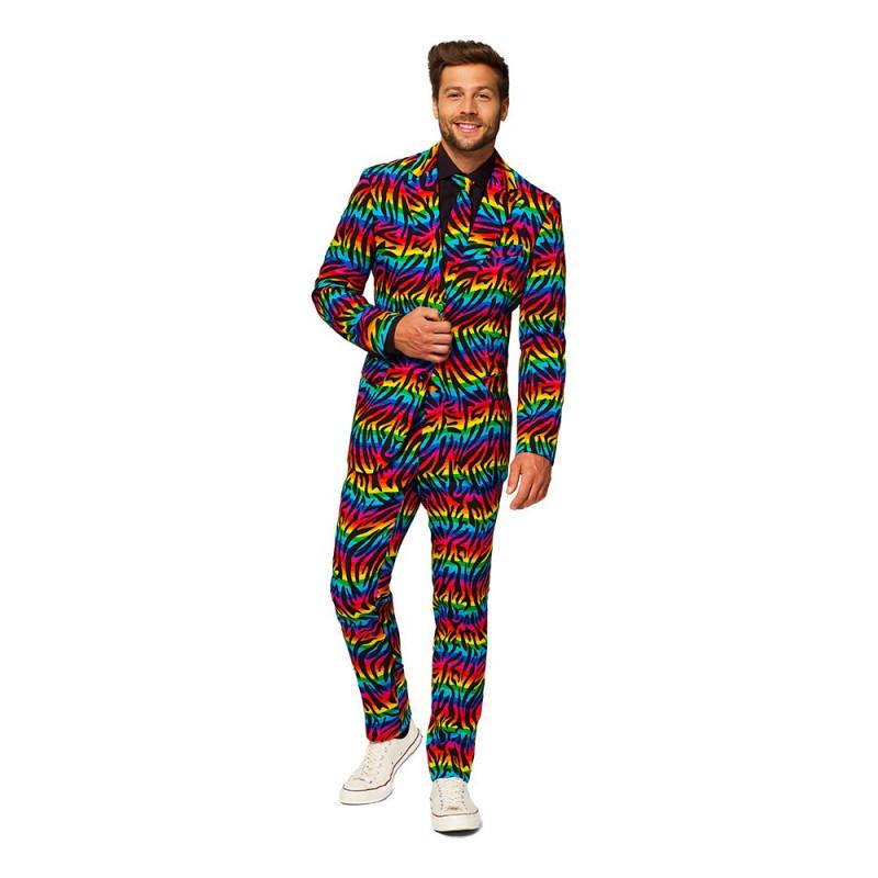 OppoSuits Wild Rainbow Kostym - 56
