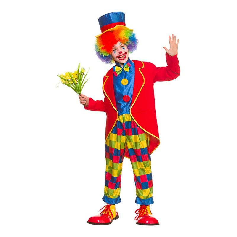Cirkus Clown Barn Maskeraddräkt - Large