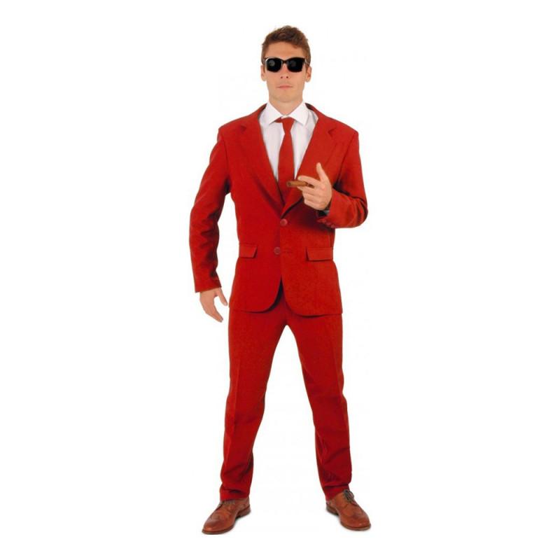 Kostym Mr Röd Herr - 60
