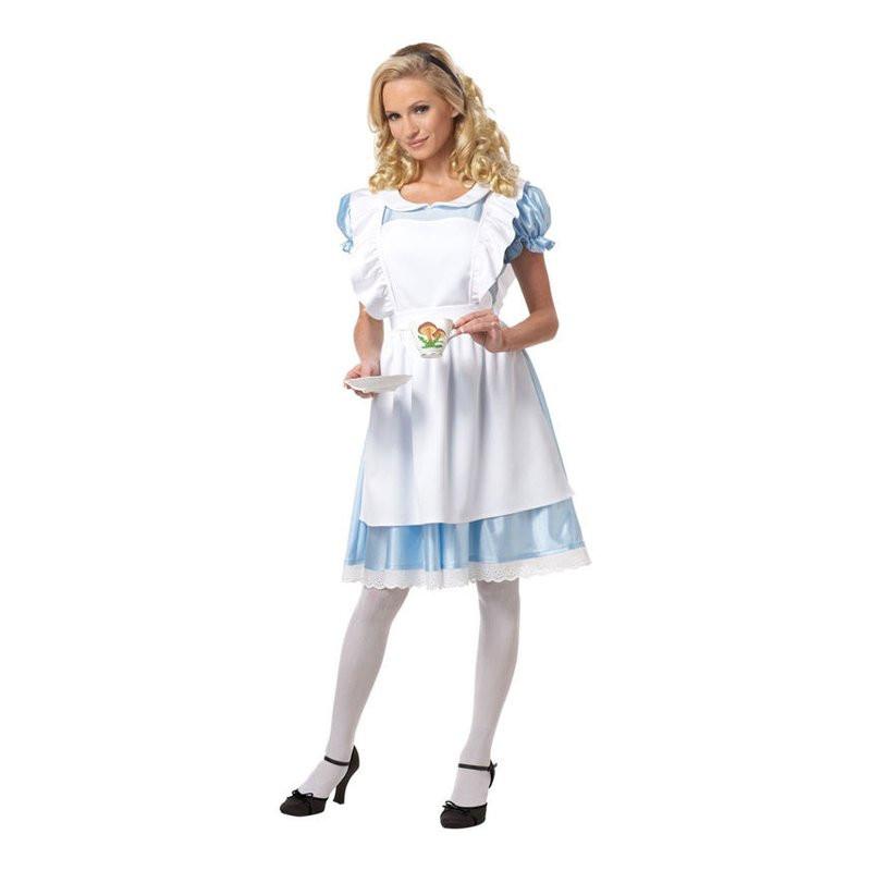 Alice i Underlandet Maskeraddräkt - Large