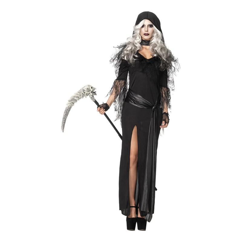 Kvinnlig Döden Deluxe Maskeraddräkt - Small/Medium