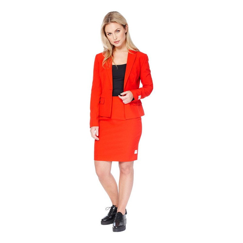 OppoSuits Red Ruby Kostym - 44