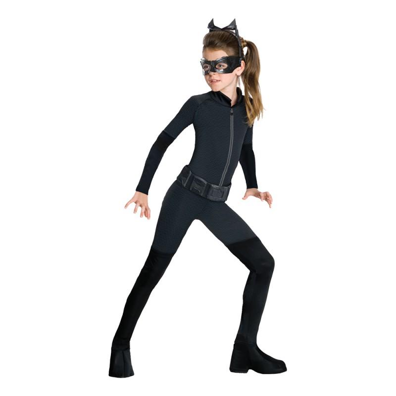 Catwoman Barn Maskeraddräkt - Small