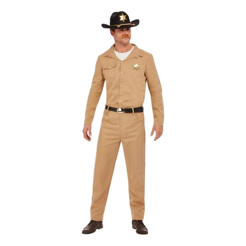 80-tals Sheriff Maskeraddräkt - Medium