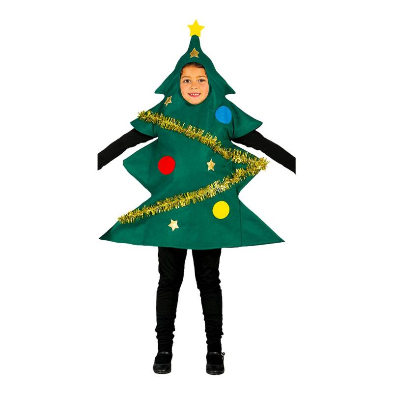Julgran med Pynt Barn Maskeraddräkt - Medium