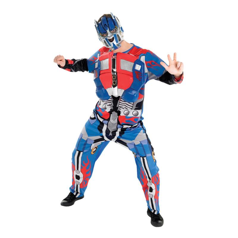 Optimus Prime Maskeraddräkt - X-Large