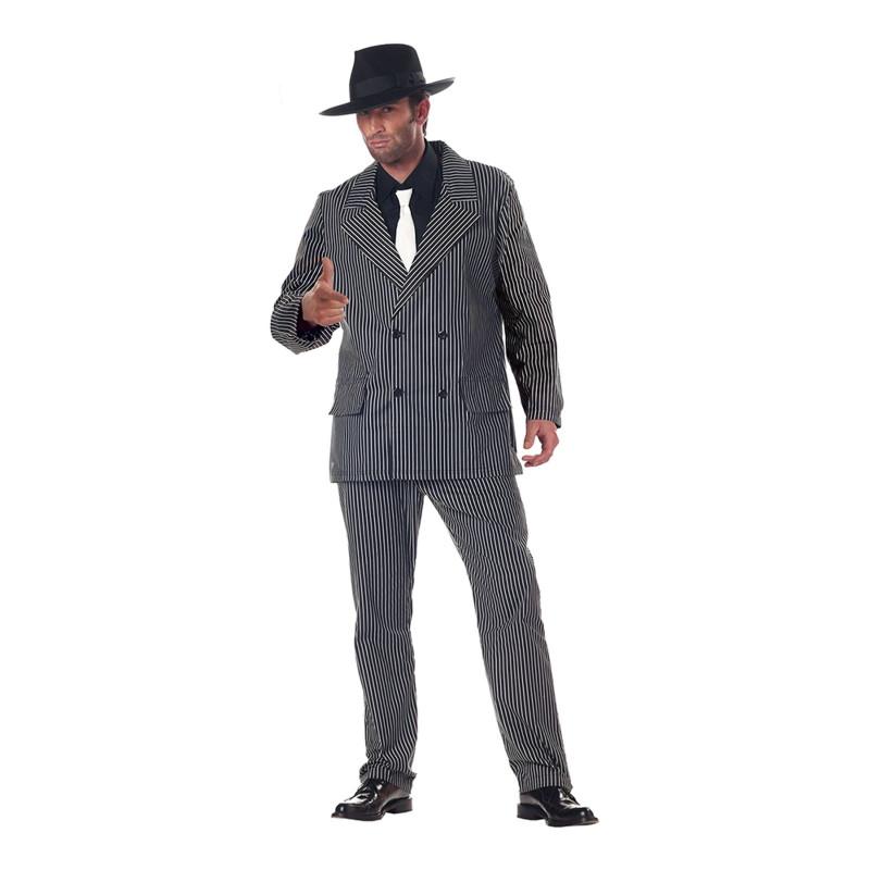 Gangster Maskeraddräkt - X-Large