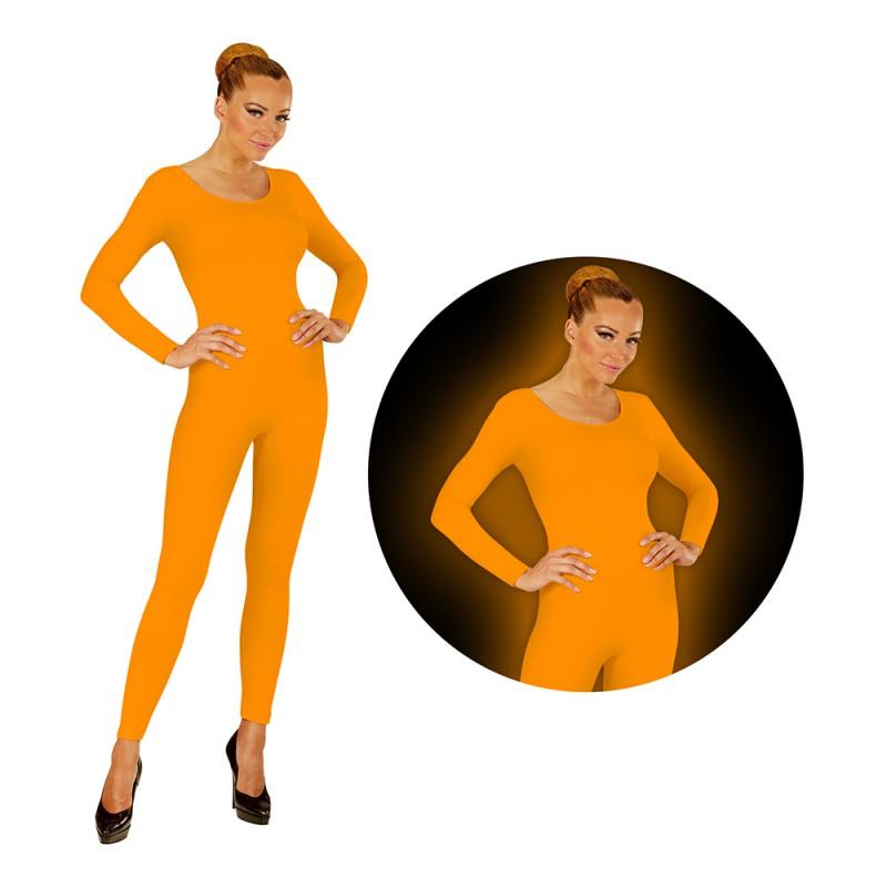 Bodysuit UV Neon Orange - Small/Medium