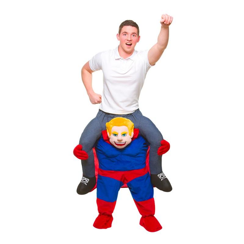 Carry Me Superhjälte Maskeraddräkt - One size