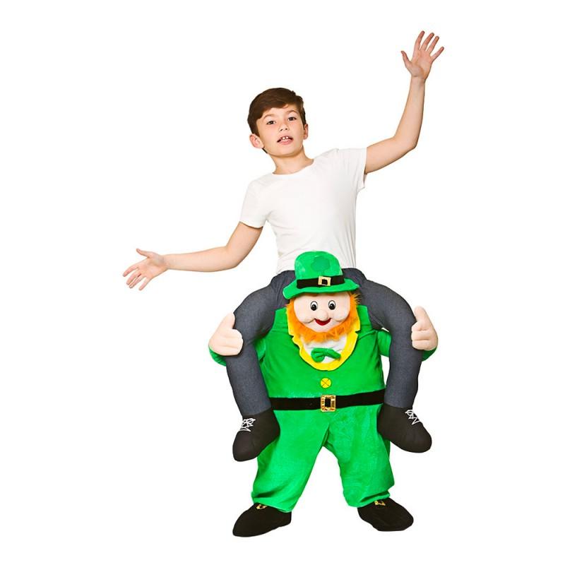 Carry Me Leprechaun Barn Maskeraddräkt - One size