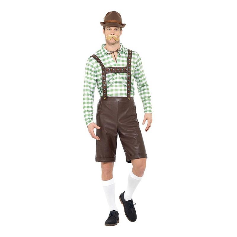 Bavarian Man Maskeraddräkt - Medium