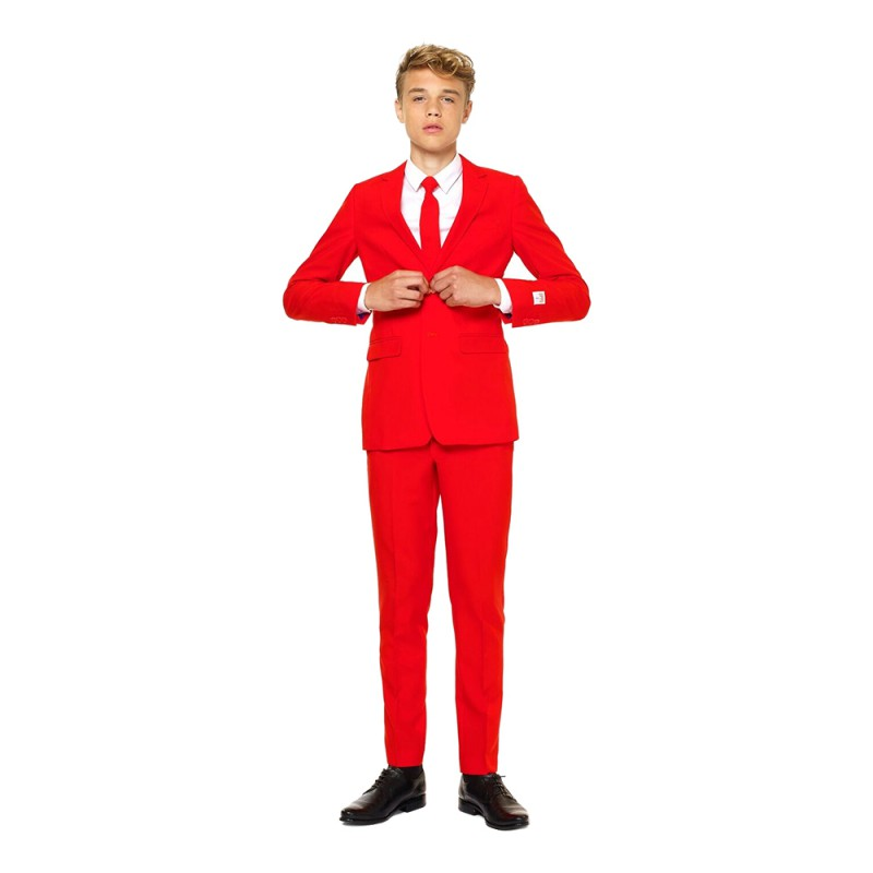 OppoSuits Teen Devil Kostym - 134/140
