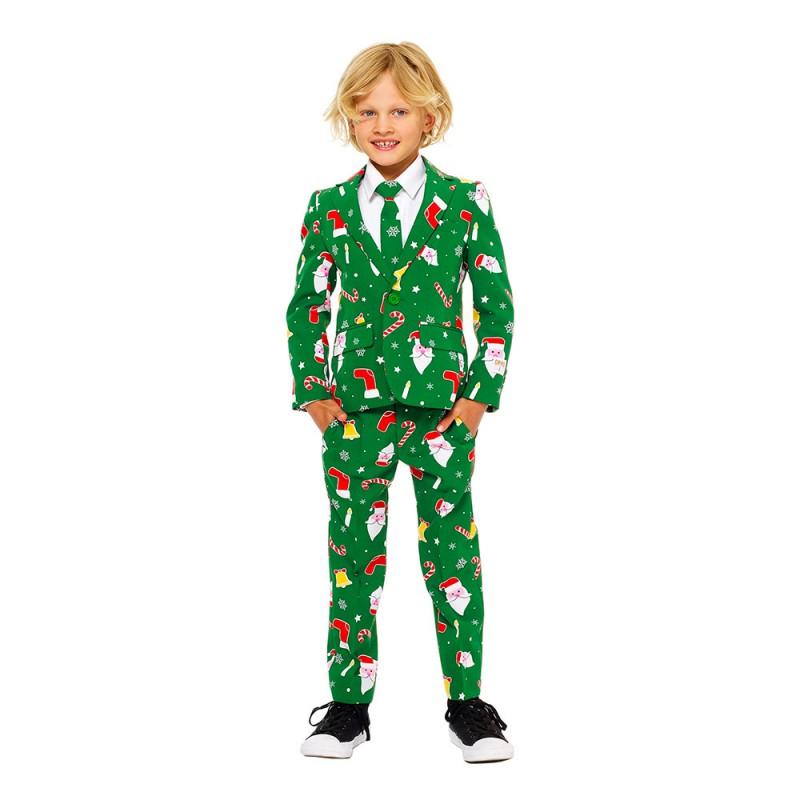 OppoSuits Santaboss Boys Kostym - 92/98