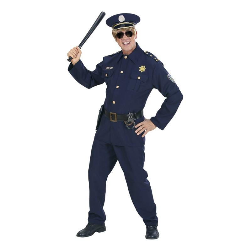 Polisofficer Maskeraddräkt - Small