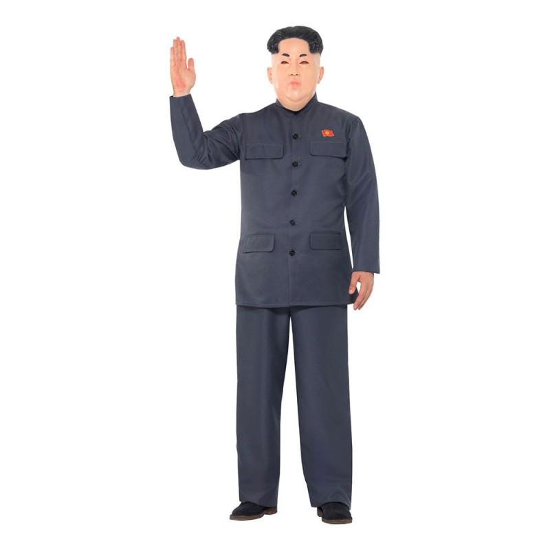 Nordkoreansk Diktator Maskeraddräkt - Large