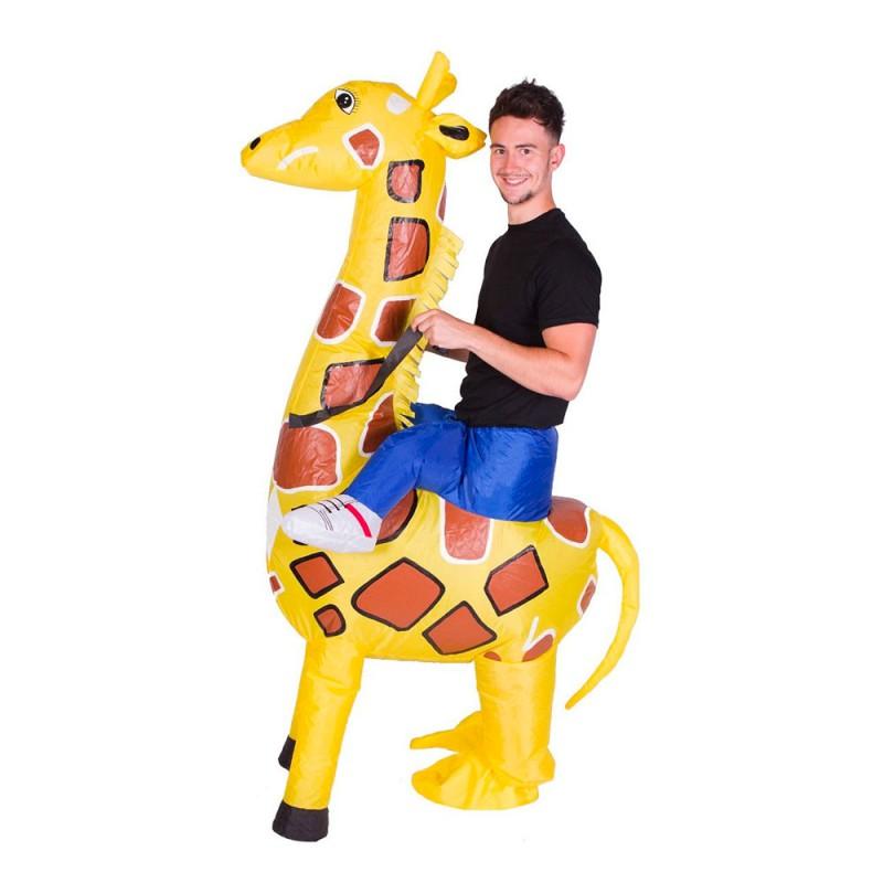 Uppblåsbar Giraff Maskeraddräkt - One size
