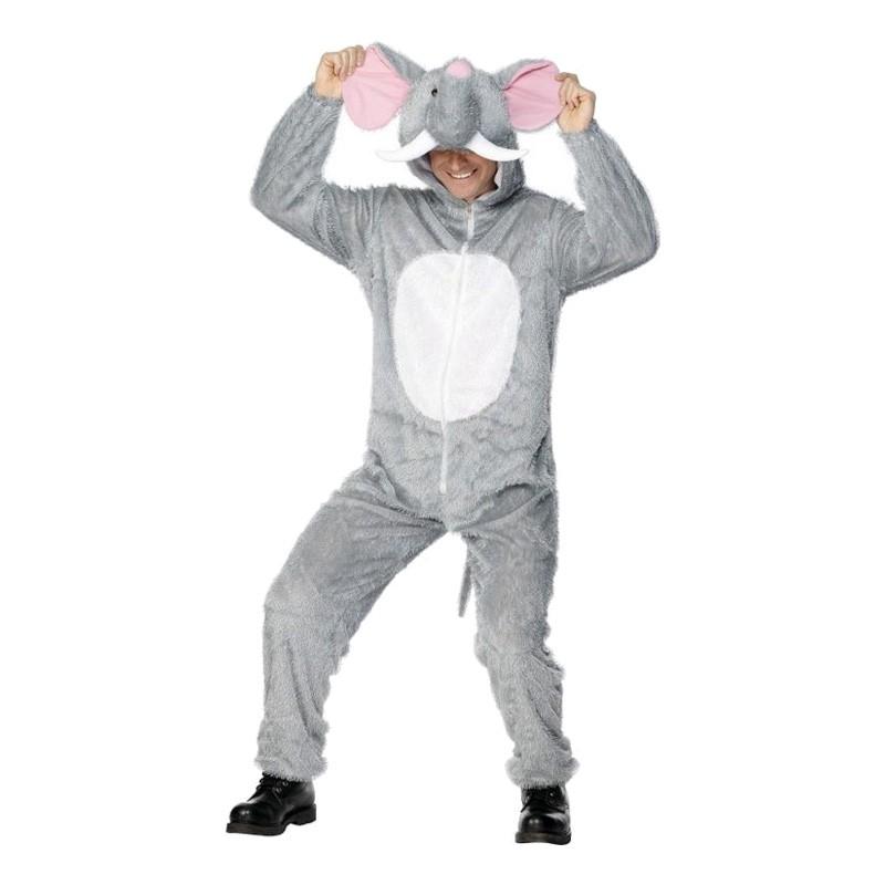 Elefant Maskeraddräkt - One size