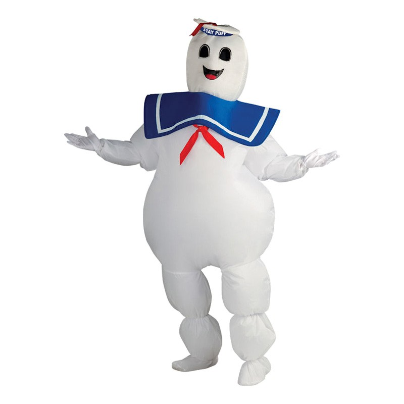 Marshmallow Man Maskeraddräkt - One size