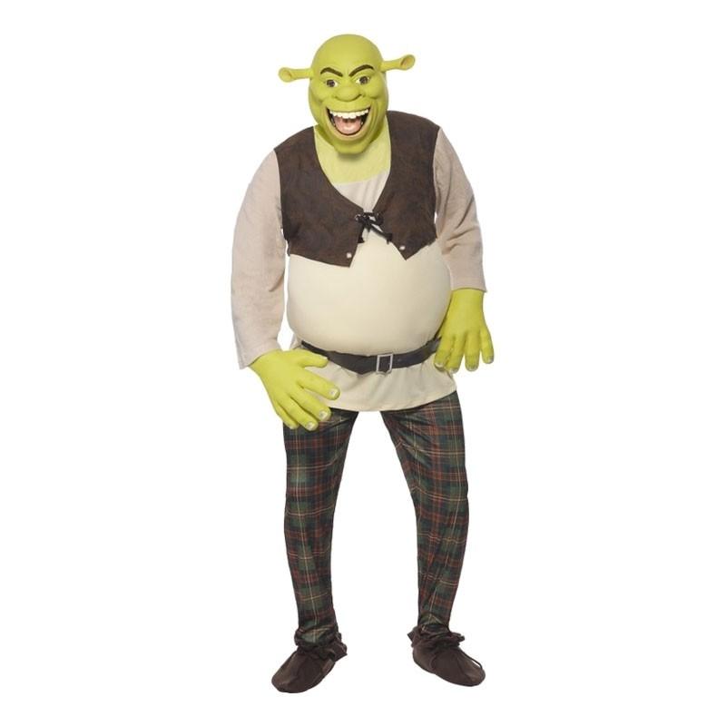 Shrek Maskeraddräkt - Medium