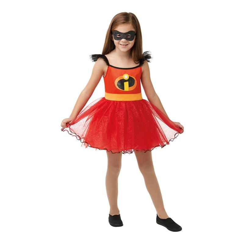 Incredibles 2 Klänning Barn Maskeraddräkt - Small
