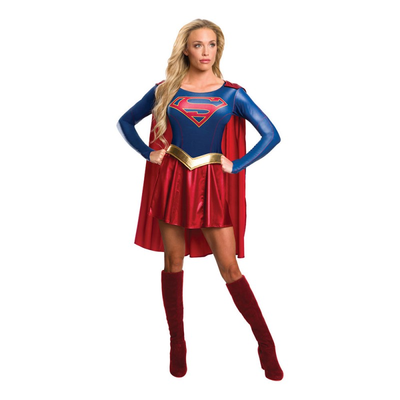 Supergirl Tv-Serie Maskeraddräkt - Small