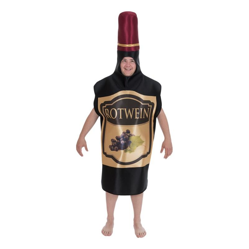 Vinflaska Maskeraddräkt - One size