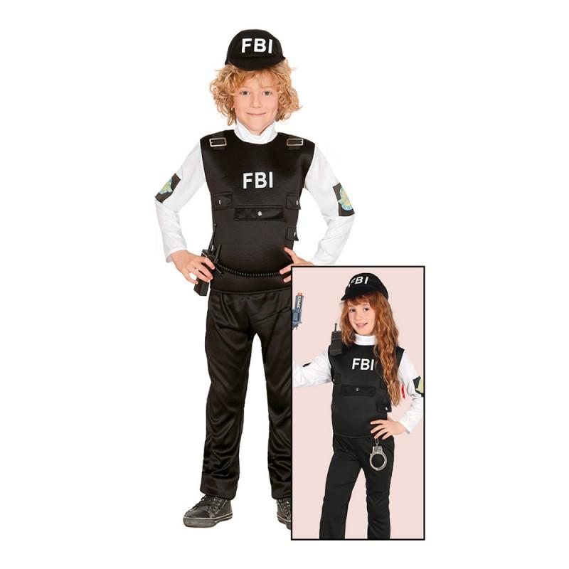 FBI-Agent Barn Maskeraddräkt - Small