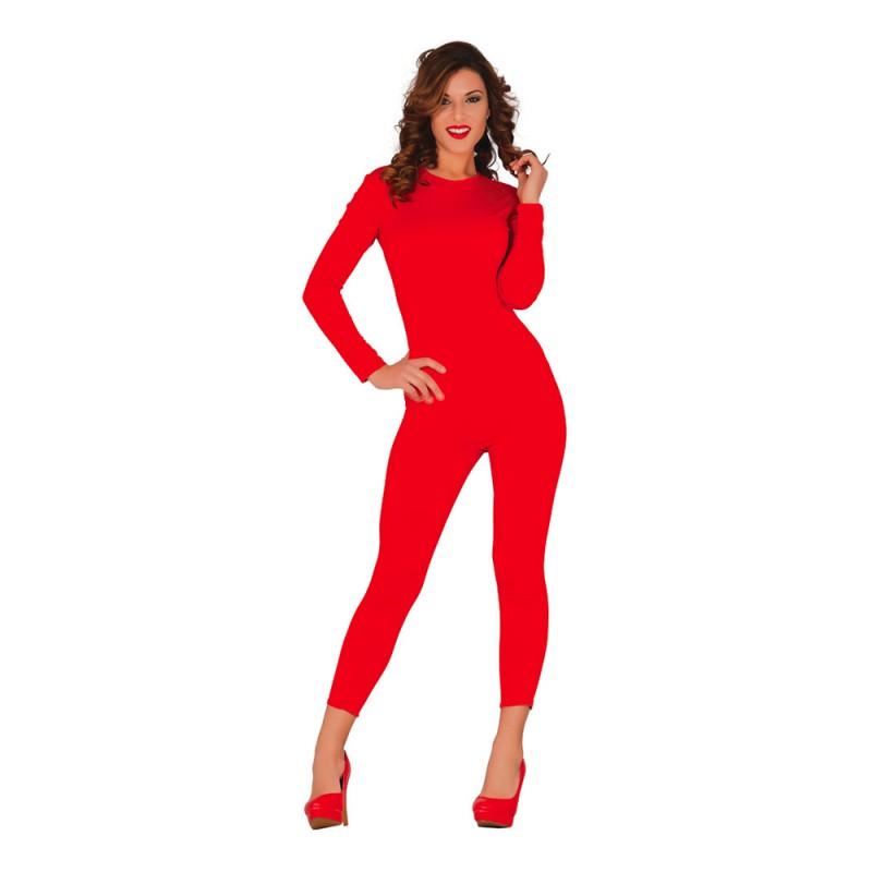 Långärmad Body för Kvinnor Röd - Small/Medium