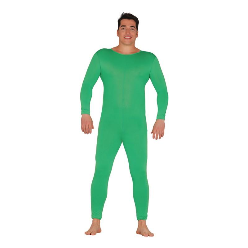 Långärmad Body för Män Grön