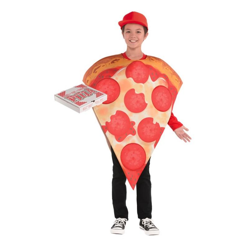 Pizza Slice Barn Maskeraddräkt - One size