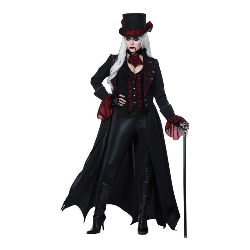 Vampyra med Rock Maskeraddräkt - Small