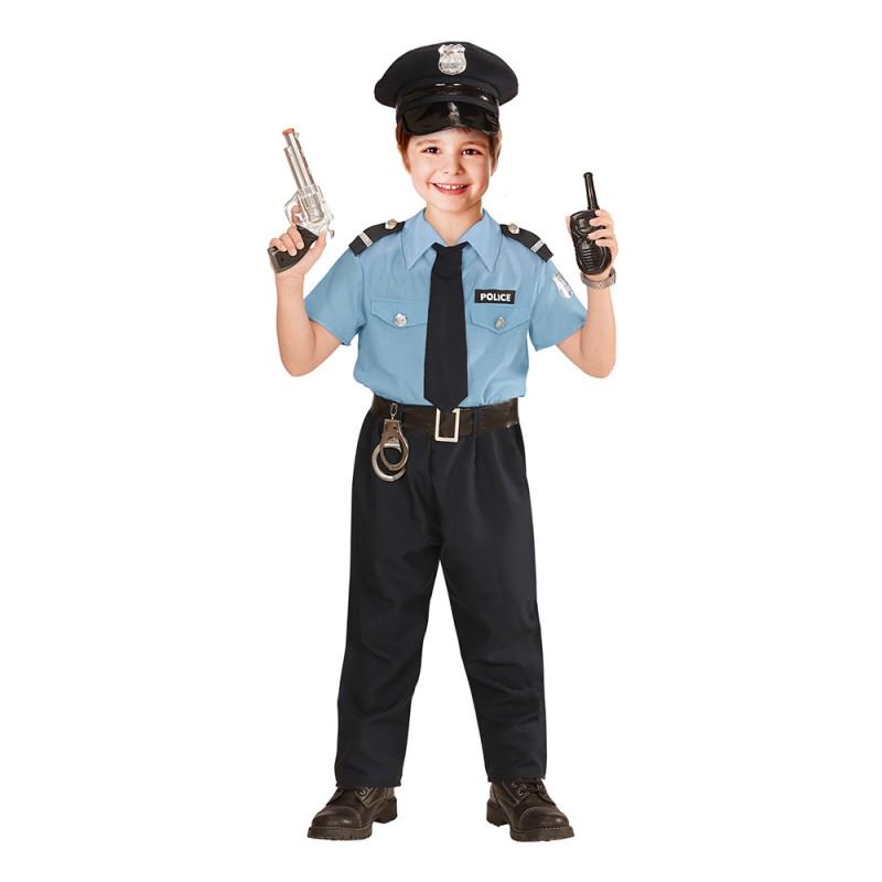 Polis Officer Barn Maskeraddräkt - Small