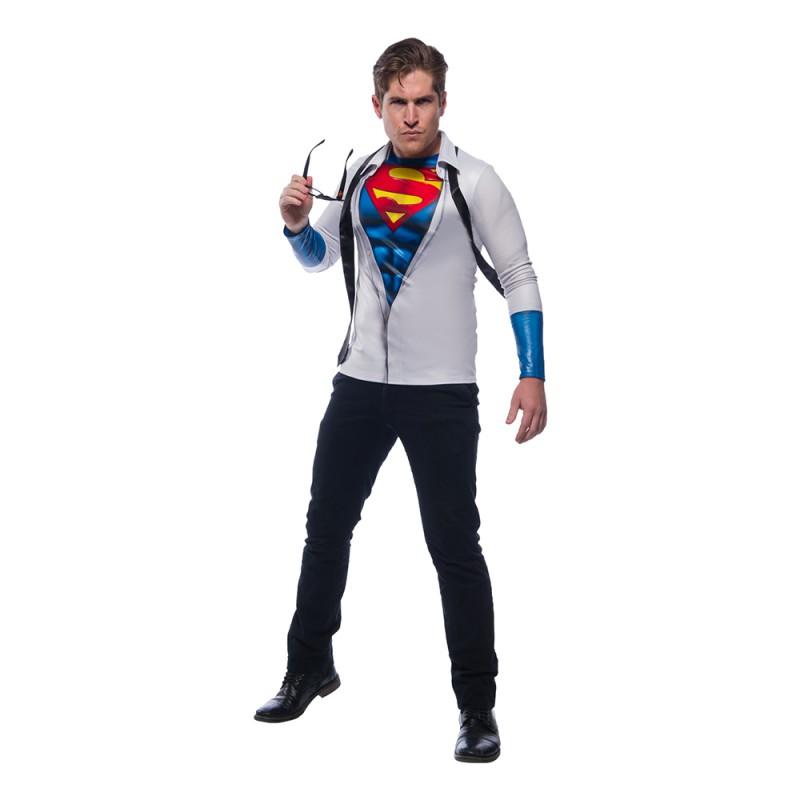 Superman Clark Kent Maskeraddräkt - Standard
