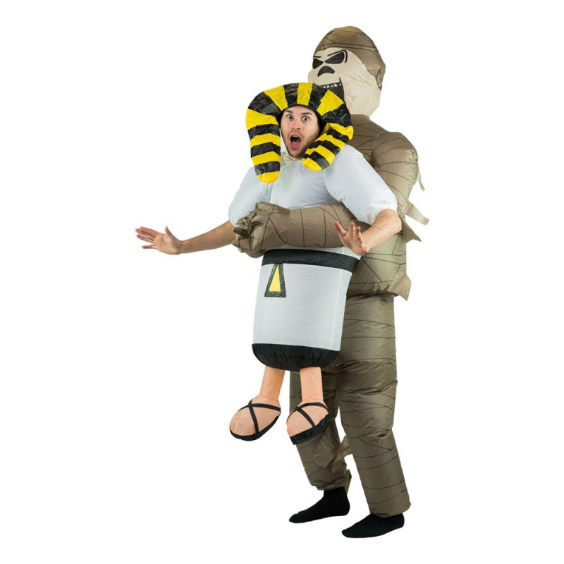 Uppblåsbar Mumie Maskeraddräkt - One size