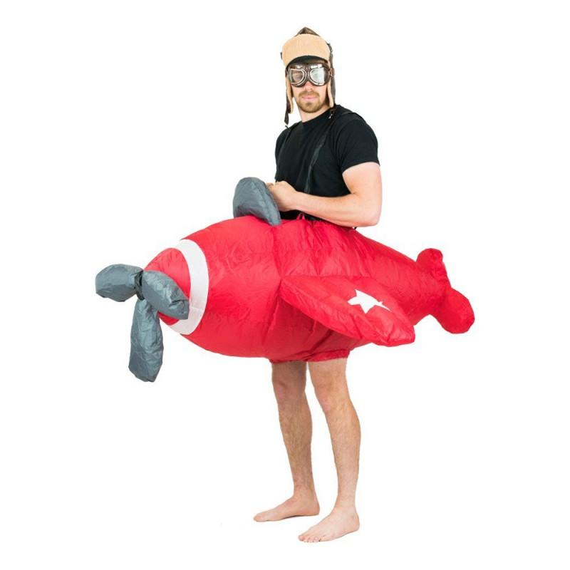 Uppblåsbart Plan Maskeraddräkt - One size