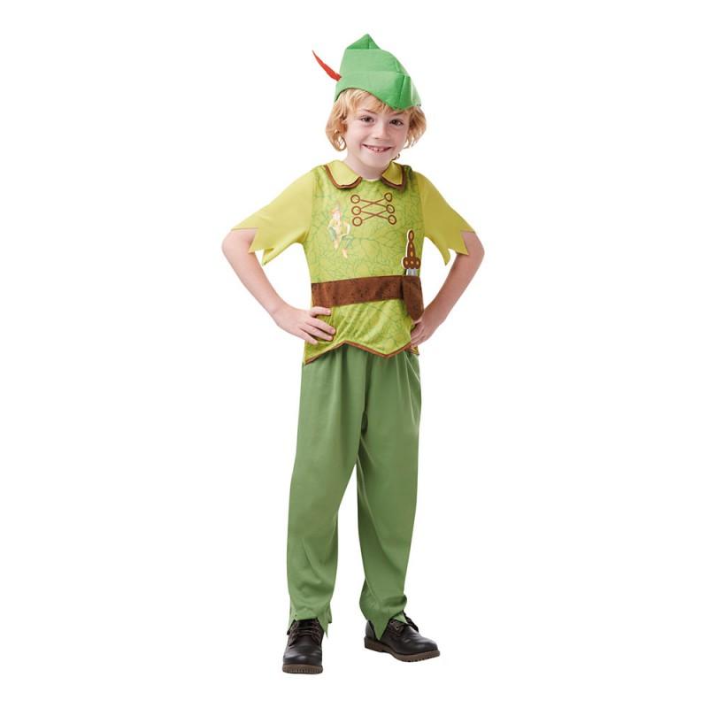 Peter Pan Sagobok Barn Maskeraddräkt - Small