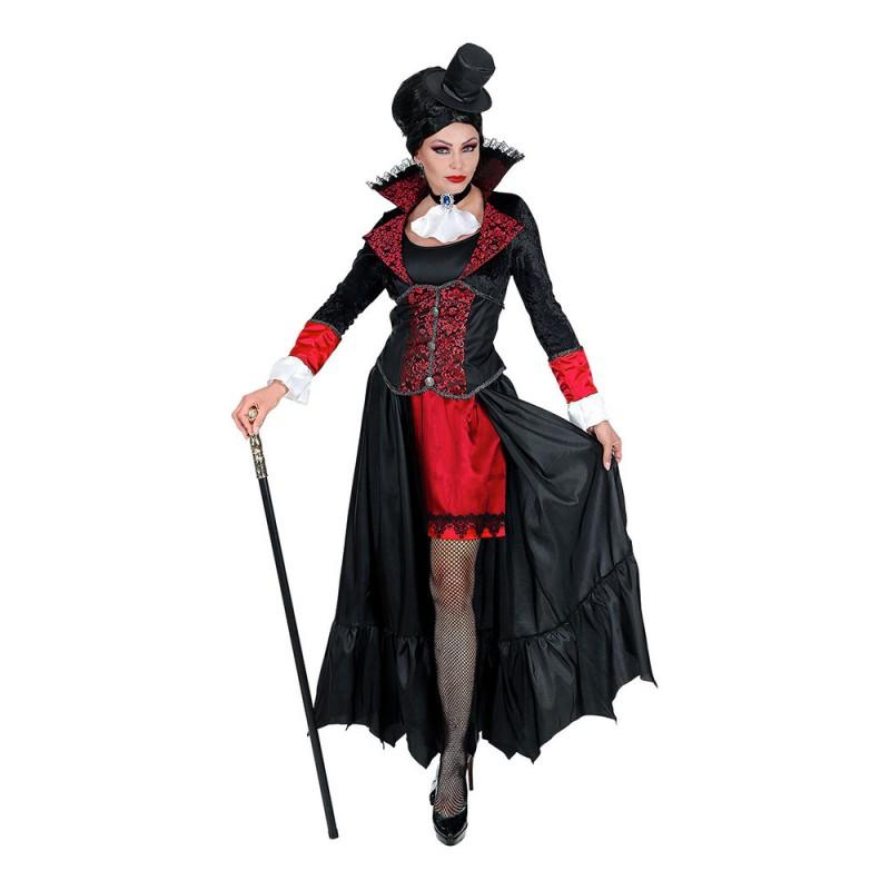Vampyrkvinna Maskeraddräkt - Small