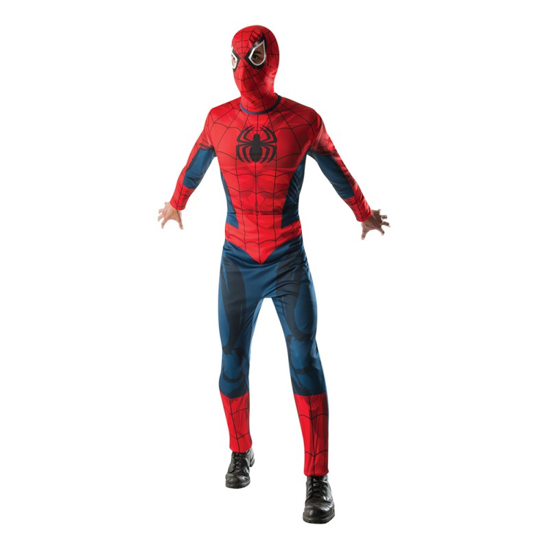 Spiderman Maskeraddräkt - Standard