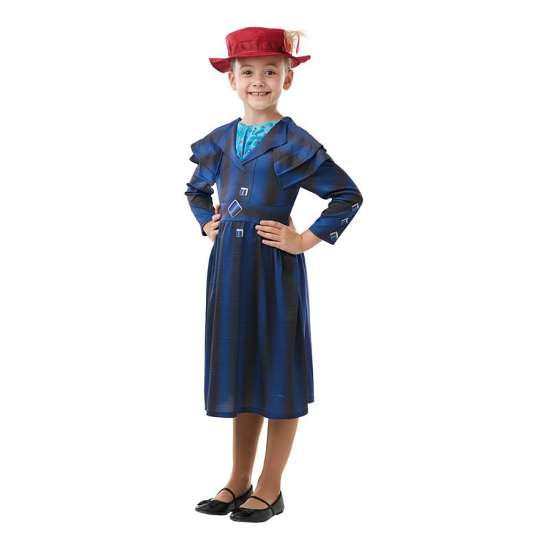 Mary Poppins Returns Barn Maskeraddräkt - Small