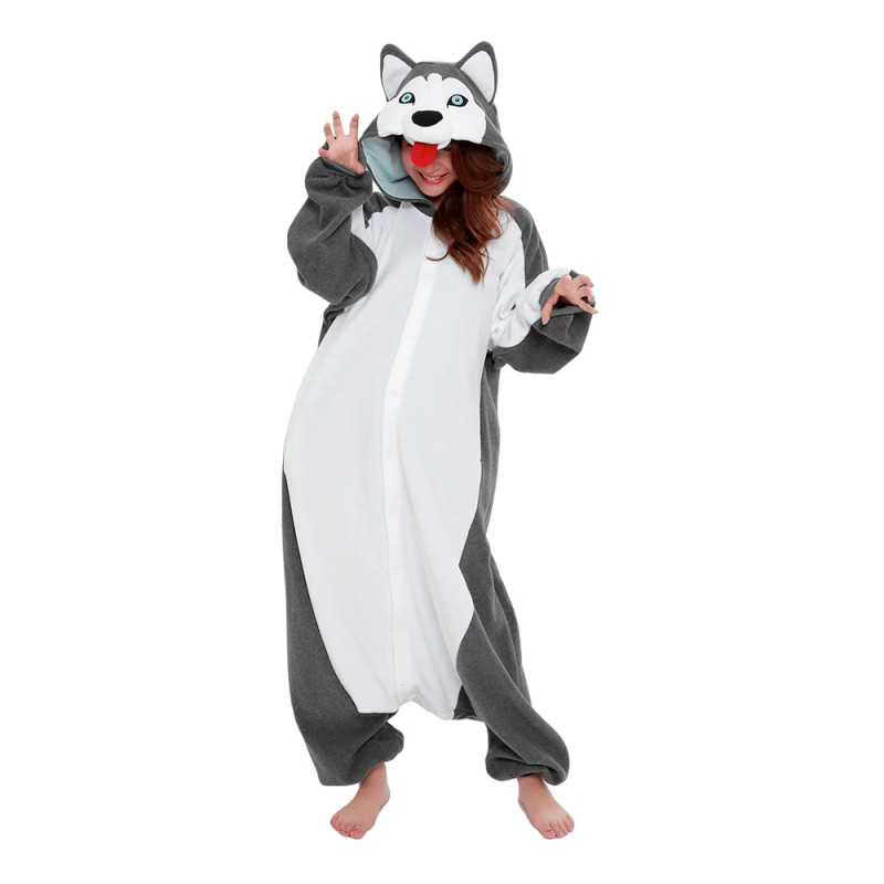 Siberian Husky Kigurumi - One size