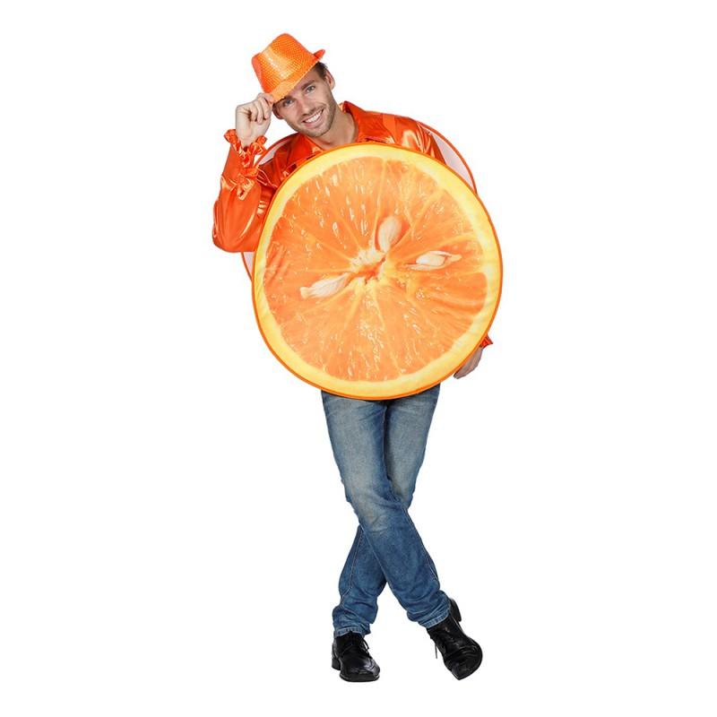 Apelsin Maskeraddräkt - One size