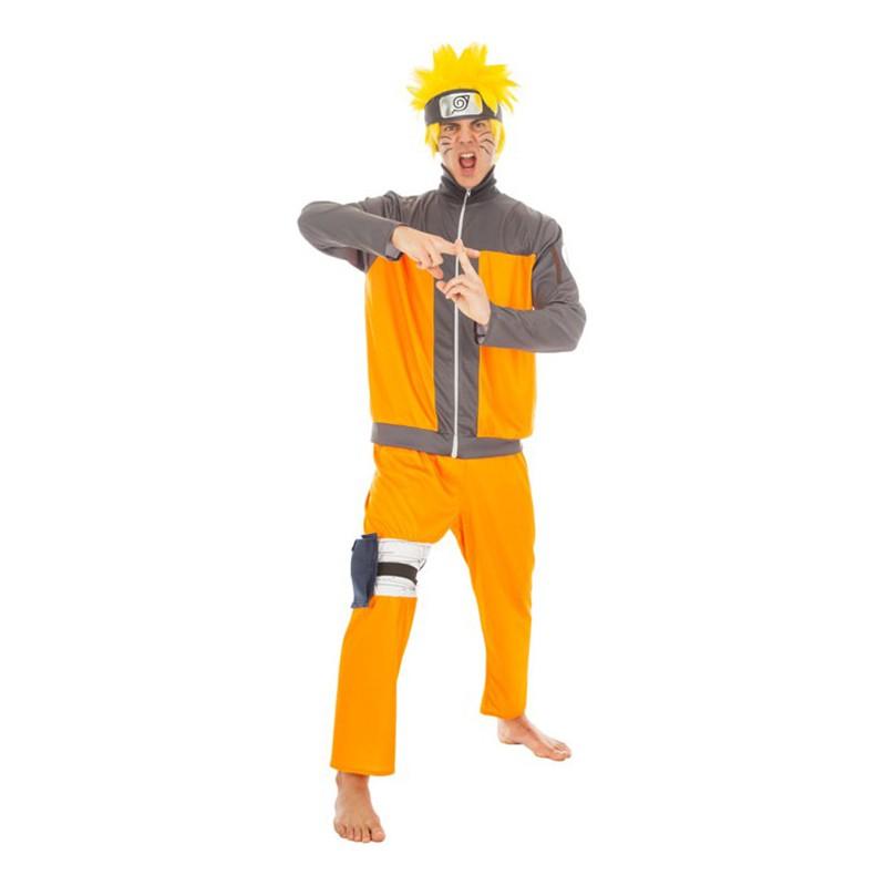 Naruto Deluxe Maskeraddräkt - Small
