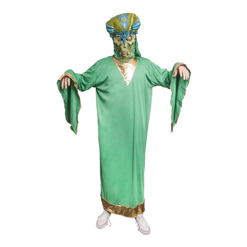 Alien Kung Maskeraddräkt - One size